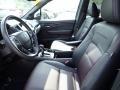 Front Seat of 2019 Ridgeline Black Edition AWD