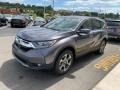 2019 Modern Steel Metallic Honda CR-V EX AWD  photo #4