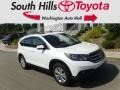 2013 White Diamond Pearl Honda CR-V EX-L AWD #135139352