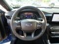 Ebony Steering Wheel Photo for 2020 Ford Explorer #135143976