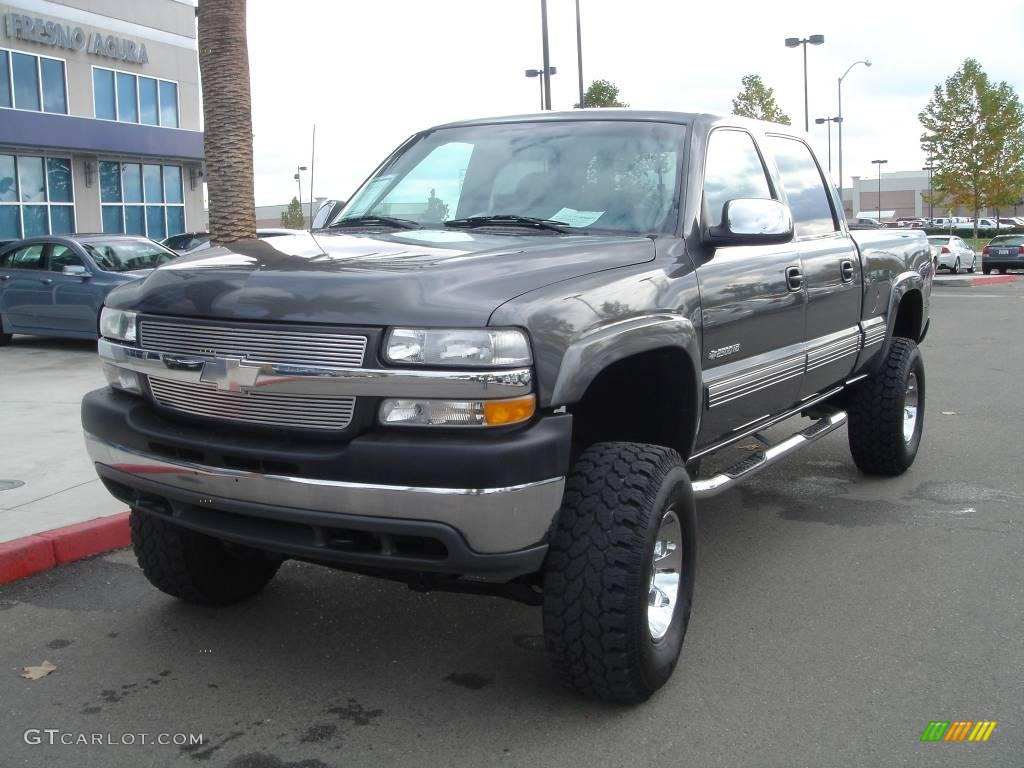 2001 chevrolet silverado 2500hd ls crew cab 4x4 medium charcoal gray. Cars Review. Best American Auto & Cars Review