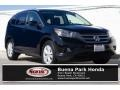 2012 Crystal Black Pearl Honda CR-V EX-L  photo #1