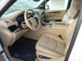 2019 Cadillac Escalade Maple Sugar/Jet Black Accents Interior Front Seat Photo