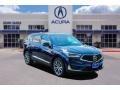 Fathom Blue Pearl 2020 Acura RDX Technology