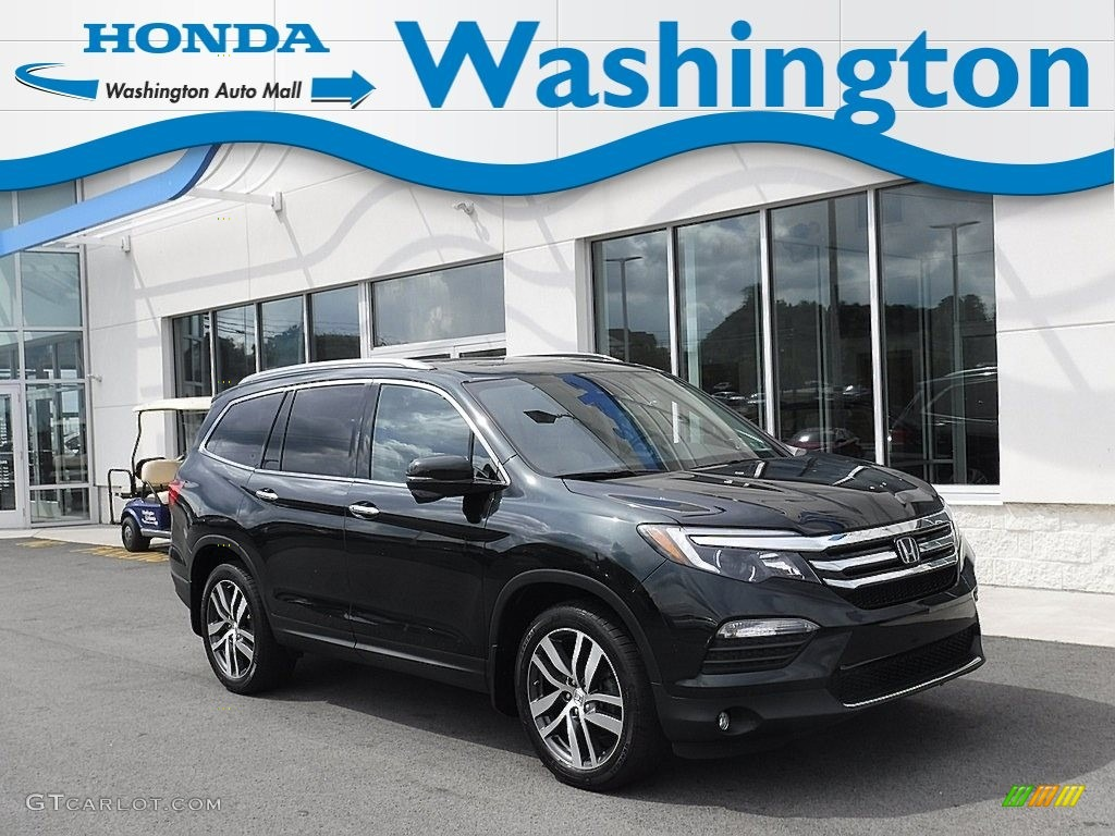 2016 Black Forest Pearl Honda Pilot Touring 135223477 Gtcarlot Com Car Color Galleries