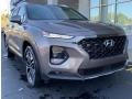 Portofino Gray 2020 Hyundai Santa Fe Limited 2.0 AWD