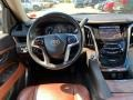 2015 Cadillac Escalade Kona Brown/Jet Black Interior Dashboard Photo
