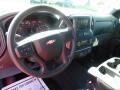 2020 Silver Ice Metallic Chevrolet Silverado 1500 Custom Double Cab 4x4  photo #17