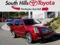 Crystal Red Tintcoat 2013 Cadillac Escalade Platinum AWD