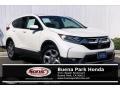 2017 White Diamond Pearl Honda CR-V EX-L #135288237