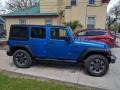 Hydro Blue Pearl 2015 Jeep Wrangler Unlimited Sport 4x4