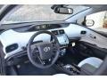 2019 Prius XLE AWD-e Moonstone Interior