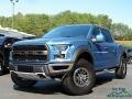 Performance Blue 2019 Ford F150 SVT Raptor SuperCrew 4x4