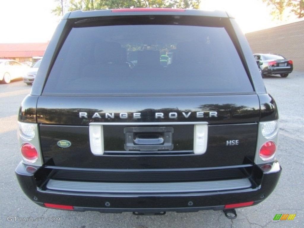 2006 Range Rover HSE - Java Black Pearl / Ivory/Aspen photo #9