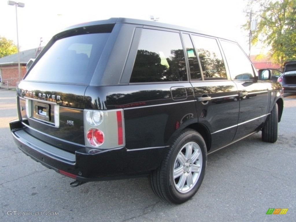 2006 Range Rover HSE - Java Black Pearl / Ivory/Aspen photo #10