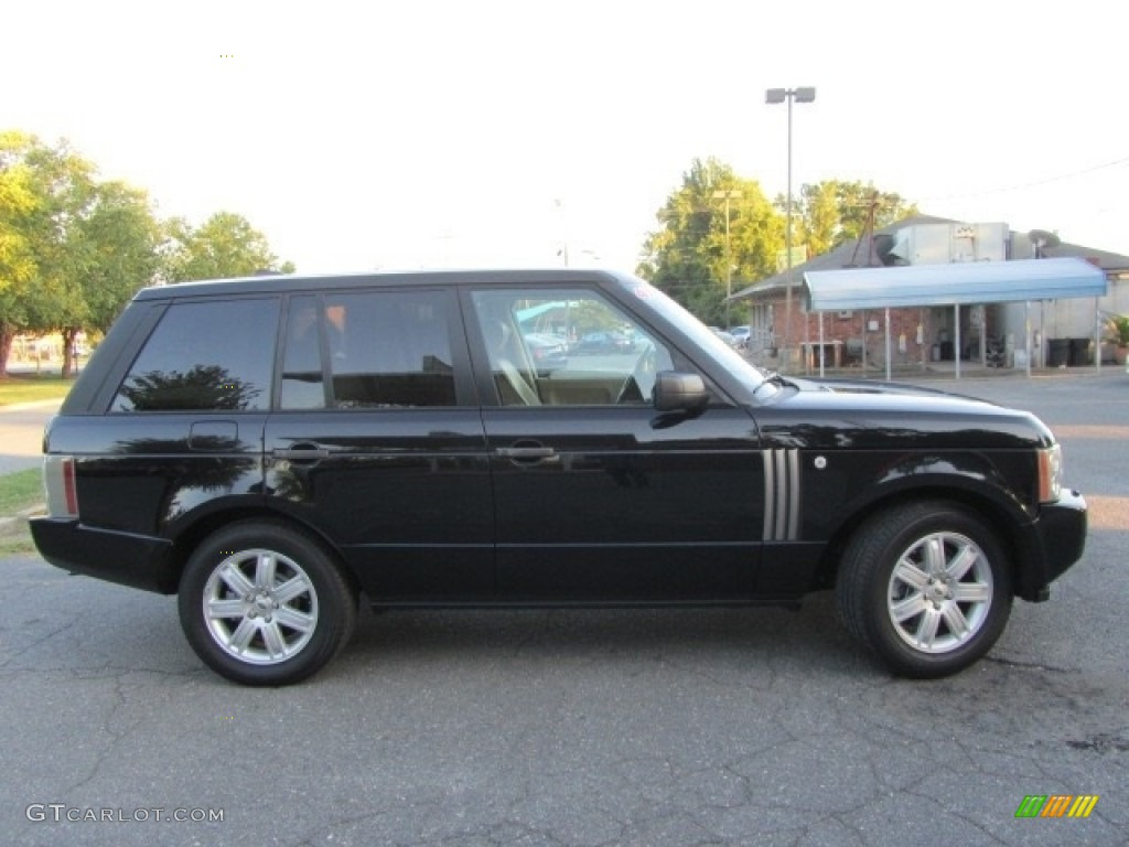 2006 Range Rover HSE - Java Black Pearl / Ivory/Aspen photo #11
