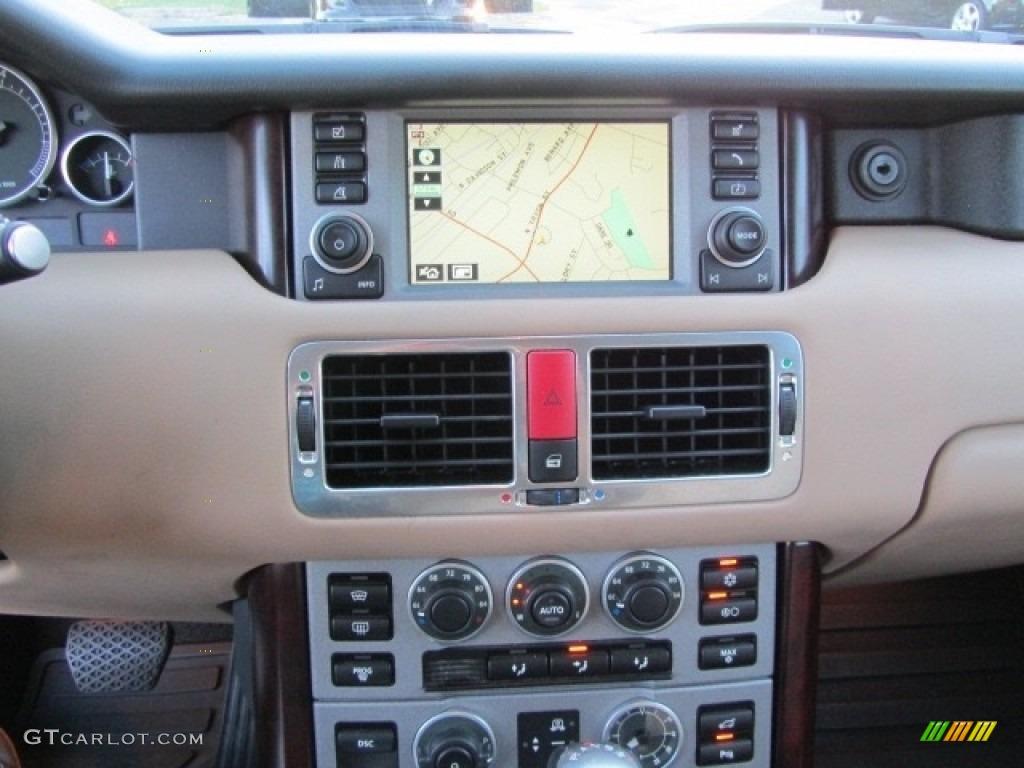 2006 Range Rover HSE - Java Black Pearl / Ivory/Aspen photo #15