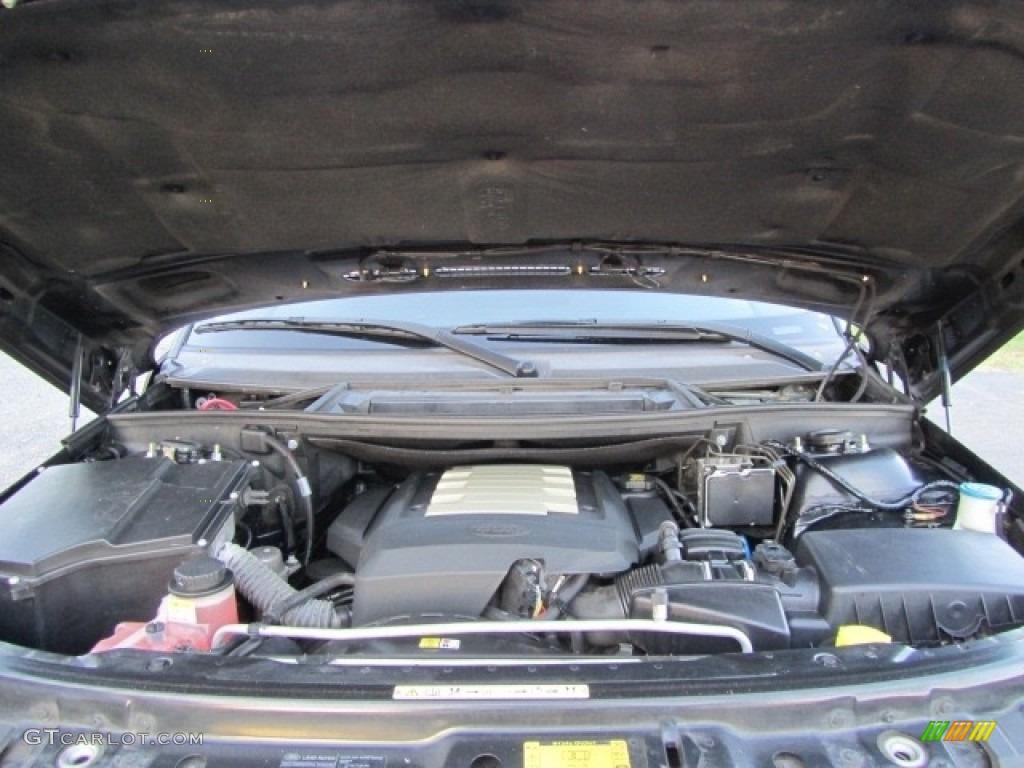 2006 Range Rover HSE - Java Black Pearl / Ivory/Aspen photo #25