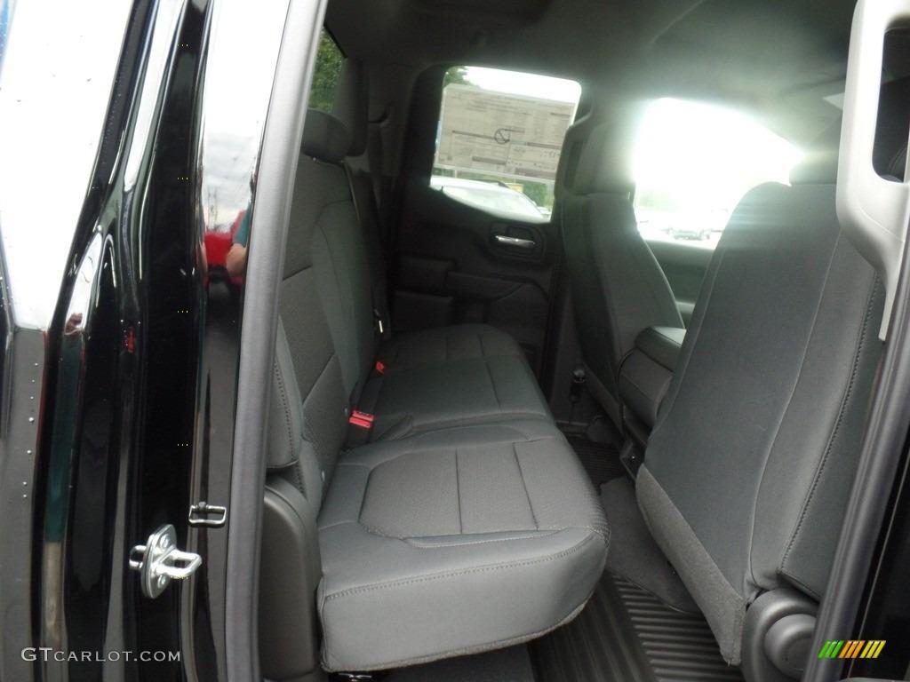 2020 Silverado 1500 Custom Double Cab 4x4 - Black / Jet Black photo #38