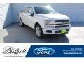 White Platinum 2019 Ford F150 XLT SuperCrew
