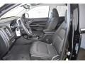Front Seat of 2020 Canyon SLE Crew Cab 4WD