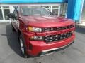 2020 Cajun Red Tintcoat Chevrolet Silverado 1500 Custom Double Cab 4x4  photo #2