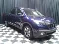 Obsidian Blue Pearl - Ridgeline RTL-T AWD Photo No. 4
