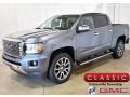 Satin Steel Metallic 2020 GMC Canyon Denali Crew Cab 4WD