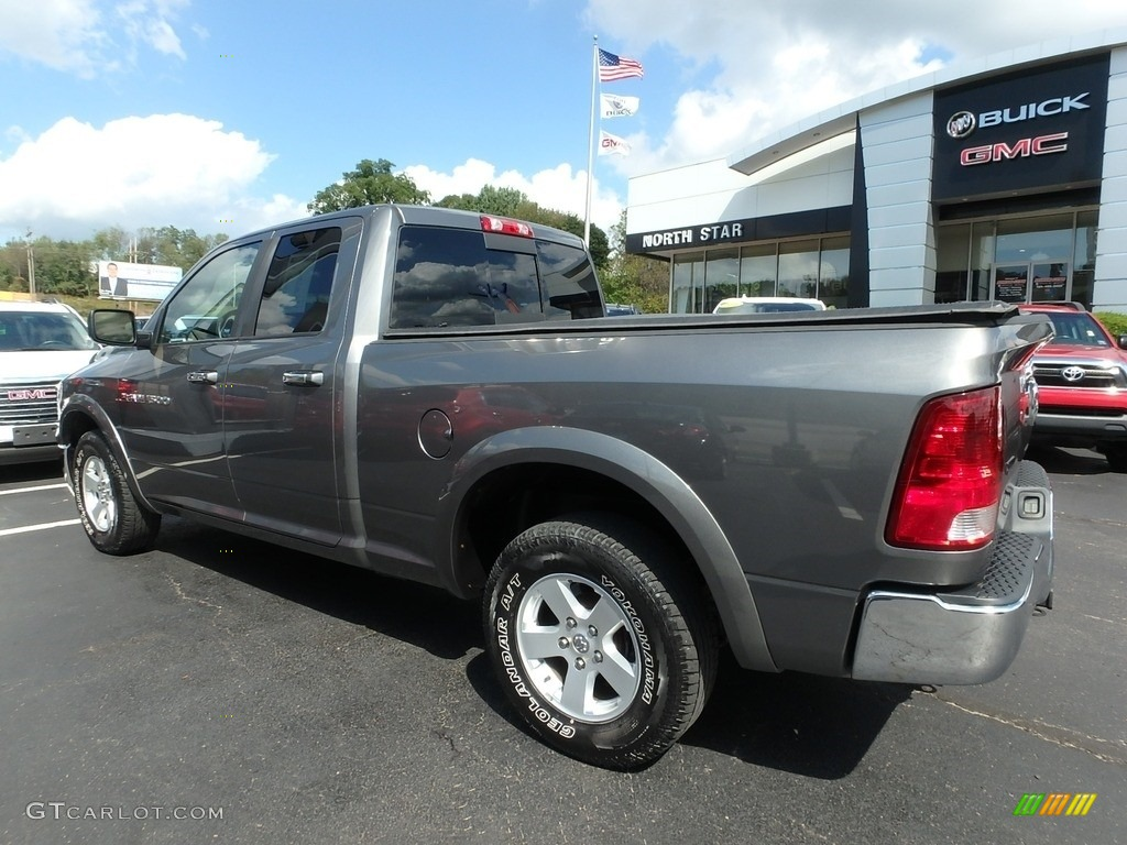 2011 Ram 1500 SLT Quad Cab 4x4 - Mineral Gray Metallic / Dark Slate Gray/Medium Graystone photo #13