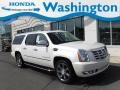 White Diamond Tricoat 2011 Cadillac Escalade ESV Luxury AWD