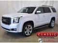 White Frost Tricoat 2020 GMC Yukon SLT 4WD