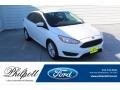2017 Oxford White Ford Focus SE Sedan #135383144