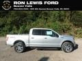 Ingot Silver - F150 XLT SuperCrew 4x4 Photo No. 1