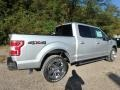 Ingot Silver - F150 XLT SuperCrew 4x4 Photo No. 2