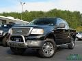 Black 2005 Ford F150 Lariat SuperCrew 4x4