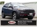Granite Crystal Metallic 2015 Jeep Cherokee Trailhawk 4x4
