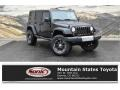 Black 2008 Jeep Wrangler Unlimited X 4x4
