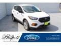 2019 Oxford White Ford Escape S  photo #1