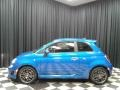 Laser Blue Metallic 2019 Fiat 500 Abarth
