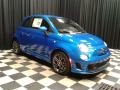 Laser Blue Metallic - 500 Abarth Photo No. 4