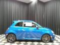 2019 500 Abarth Laser Blue Metallic
