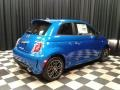Laser Blue Metallic - 500 Abarth Photo No. 6