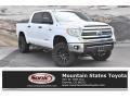 2017 Super White Toyota Tundra SR5 CrewMax 4x4 #135434543