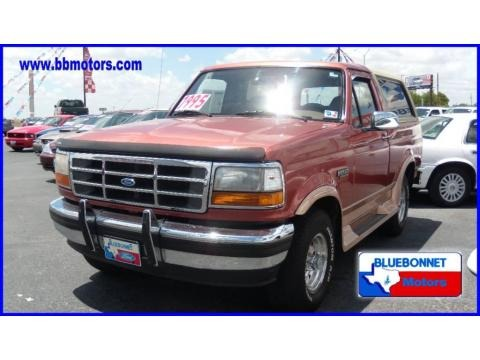 1994 Ford Bronco Eddie Bauer 4x4 Data, Info and Specs