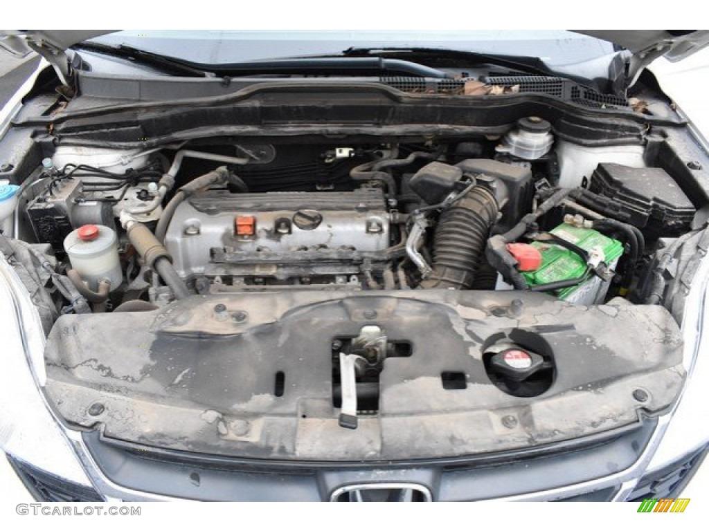 2011 CR-V LX 4WD - Taffeta White / Gray photo #9