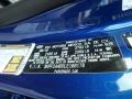 2020 Forte LXS Sea Blue Color Code B2R