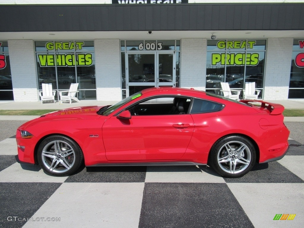 2018 Mustang GT Premium Fastback - Race Red / Ebony photo #1