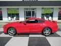 2018 Race Red Ford Mustang GT Premium Fastback  photo #1