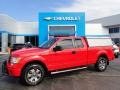2012 Race Red Ford F150 STX SuperCab 4x4 #135490478