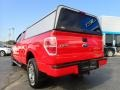 2012 Race Red Ford F150 STX SuperCab 4x4  photo #5